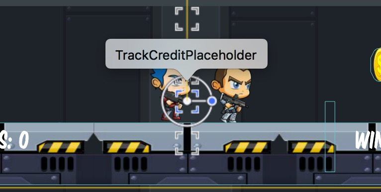 Track Credit Placeholder