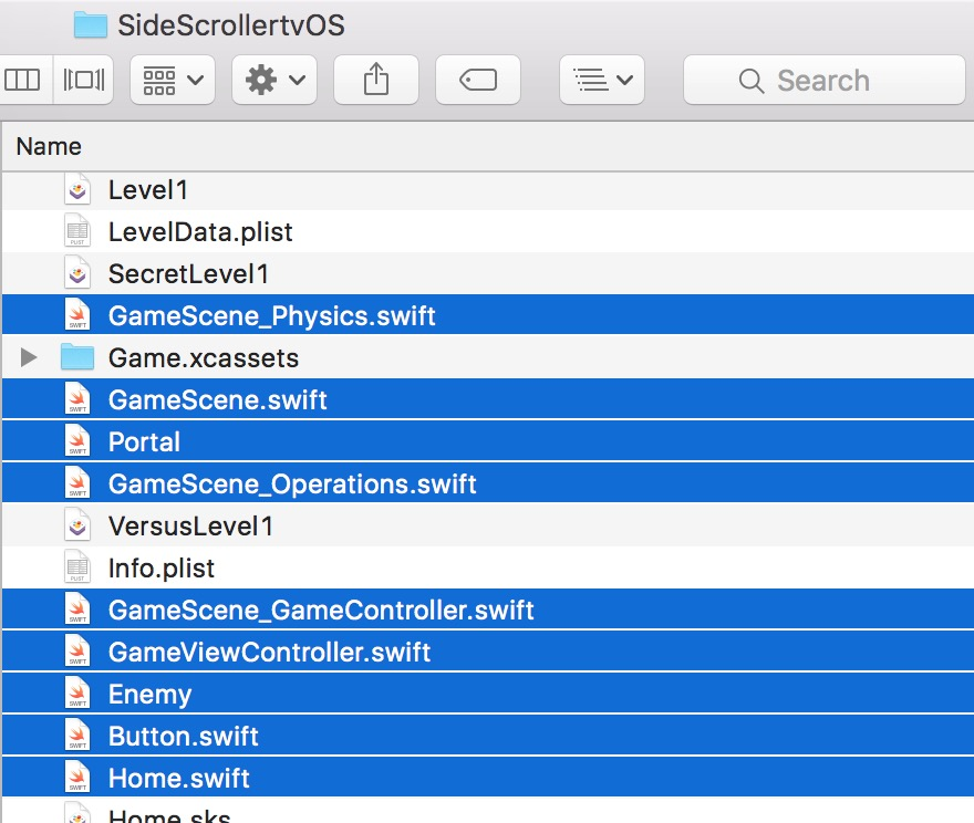 Updating from one Xcode project to another