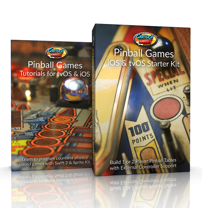 Pinball Games iOS and tvOS Starter Kit and Tutorials