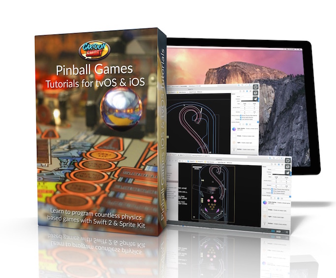 Pinball Game Tutorials - Swift and Sprite Kit Tutorials