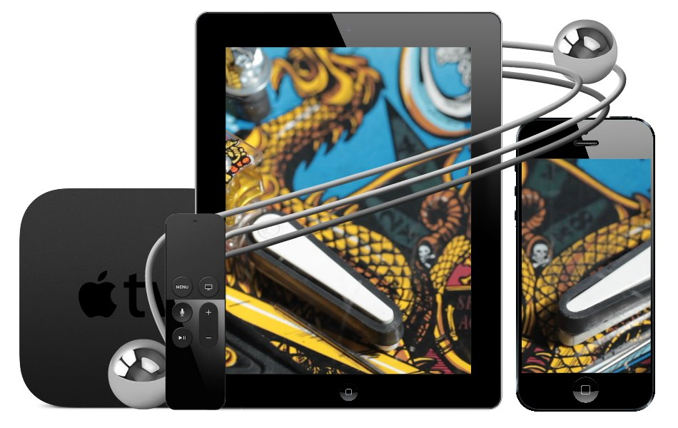 Pinball Games iOS and tvOS Starter Kit