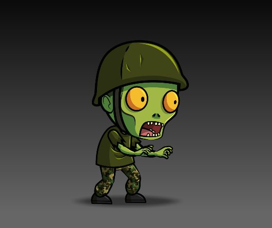 Army_Zombie_Royalty_free_Game_Art