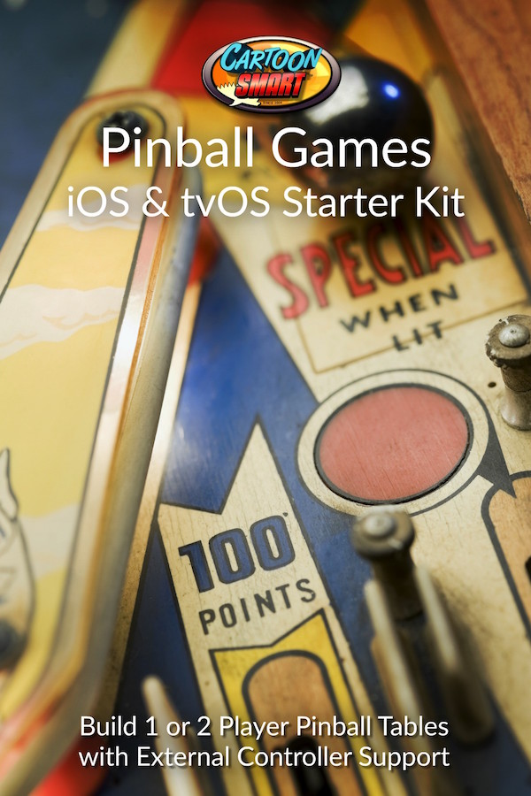 Pinball Games iOS and tvOS Starter Kit