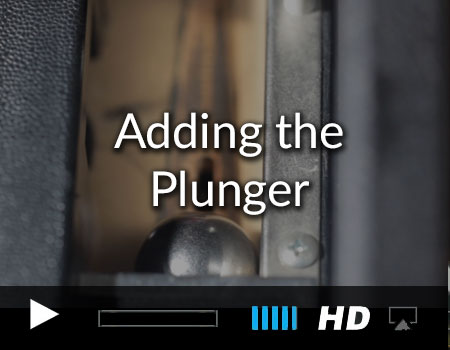 Adding the plunger in the pinball games iOS and tvOs starter kit