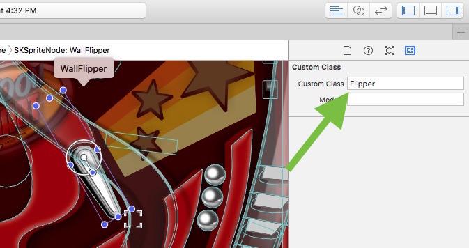 Custom Class field in Xcode 7