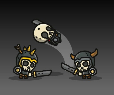 Super Tiny Skeletons – 3-Pack of Characters