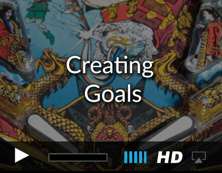 Creating Goals in the Pinball Games iOS and tvOS Kit