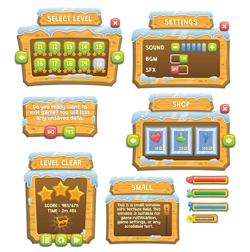 snowy GUI preview