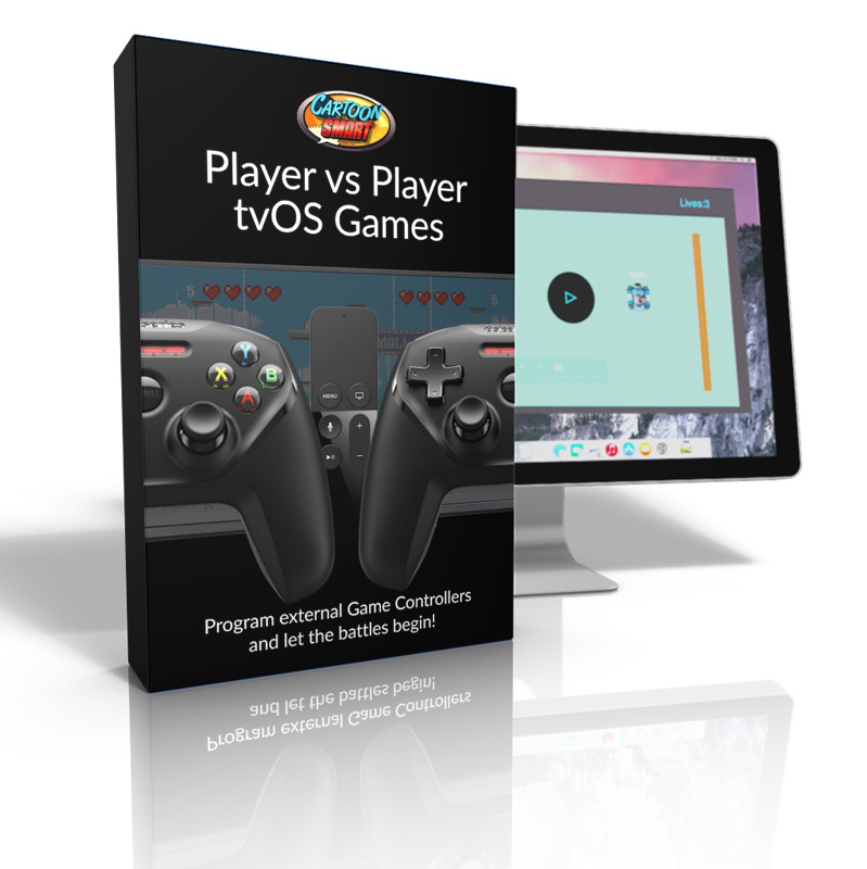 Player vs Player tvOS video tutorials Box