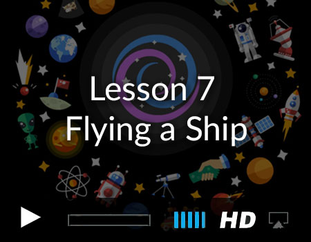 Flying a Ship in the Story Tellers Kit 2