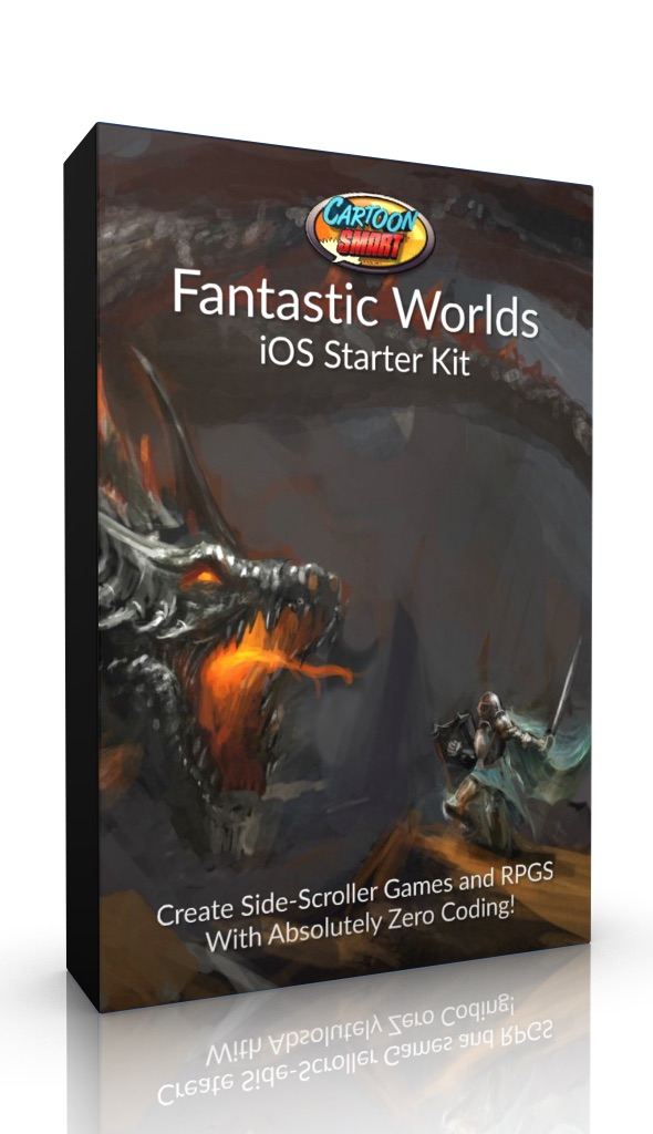 Fantastic Worlds Xcode Starter Kit Box