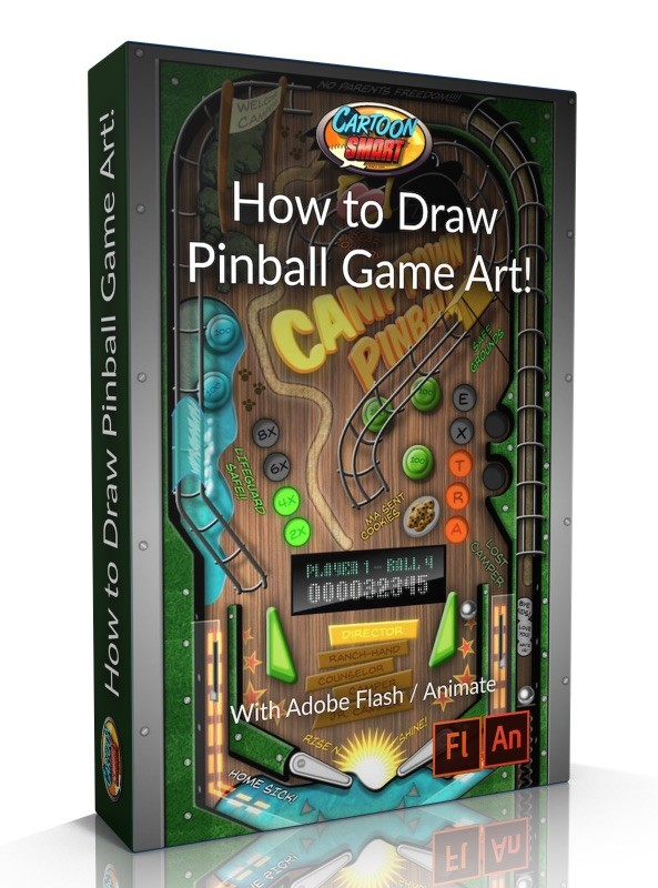 How to Draw Pinball Game Art