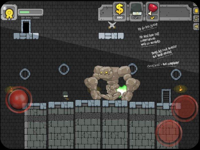 iOS Side Scroller Starter Kit Template 2