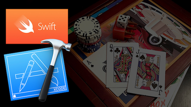 Free Swift iOS and tvOS Tutorial – Card and Board Games pt 1