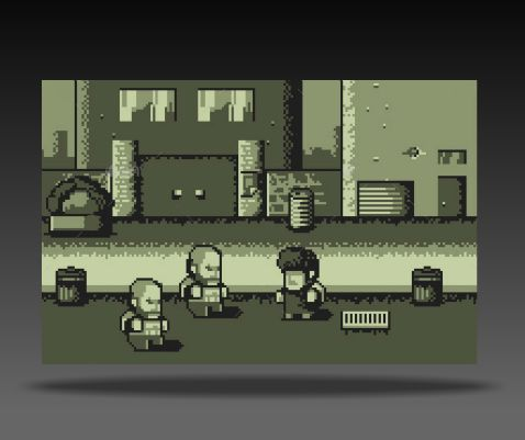 Game Boy Style Royalty Free Game Art2