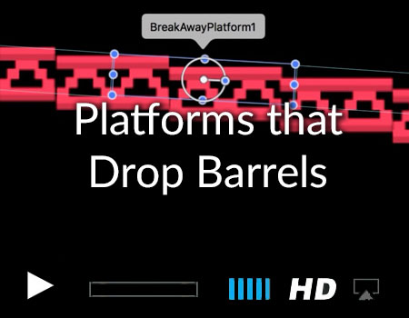 Platforms that Drop Barrels Swift and Sprite Kit