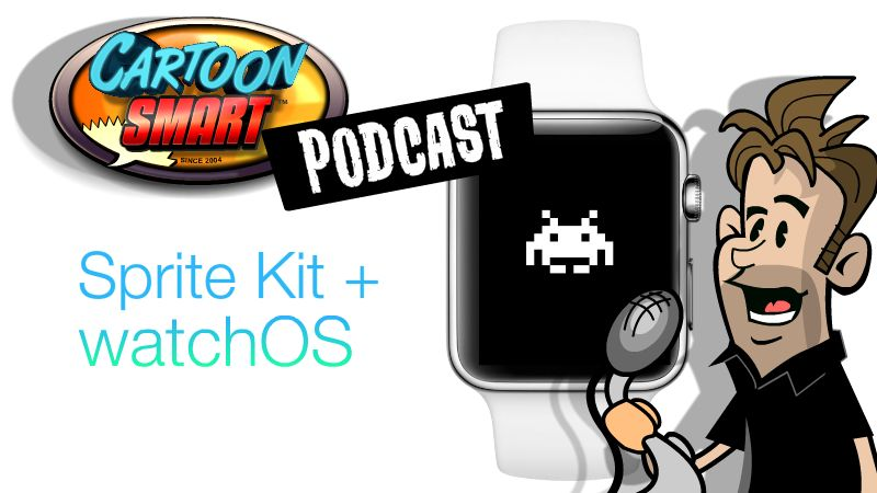 How to setup a Sprite Kit based watchOS 3 App  (Episode 35)