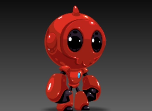 Red Bot – Bonus Game Art for Subscribers!