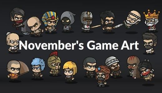 November Game Art