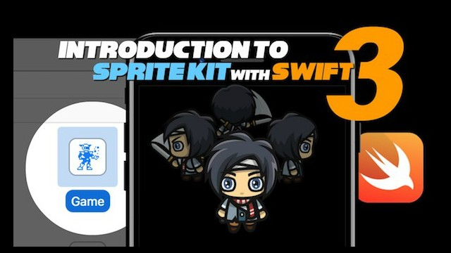 Introduction to Sprite Kit with Swift 3 video tutorials 1