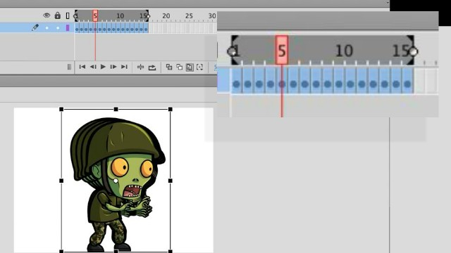 How to import an image sequence, change all frames then export it in Adobe Animate thumbnail