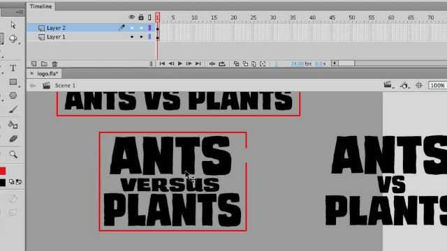 How to Draw a Logo using Adobe Animate Video Tutorial