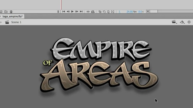 How to Draw a Logo using Adobe Animate Video Tutorial 3