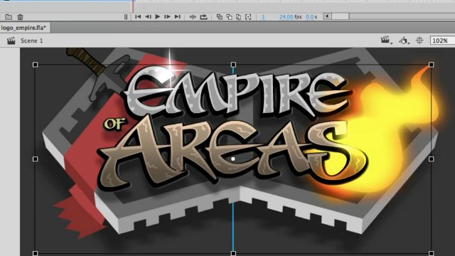 How to Draw a Logo using Adobe Animate Video Tutorial 5