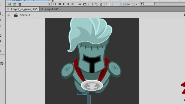 How to Draw a 2D Game Character in Adobe Animate video tutorials 3