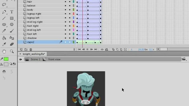 How to Animate a Top-Down Game Character in Adobe Animate