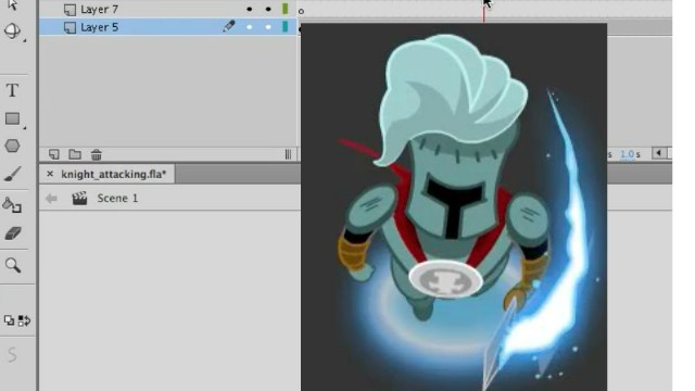How to Animate a Top-Down Game Character in Adobe Animate 4