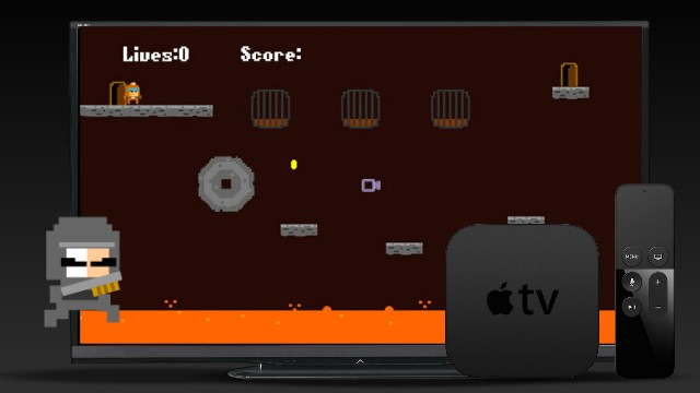 Side Scroller Sprite Kit and Swift tutorials for tvOS or iOS