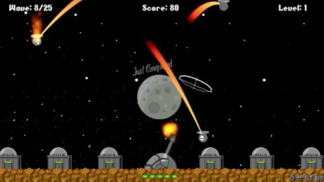 Missile Command Retro Sprite Kit Game Tutorial