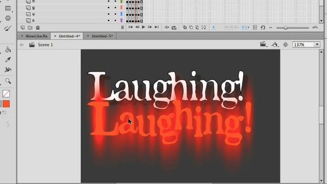 Animating Text, Adding Filters, and Exporting Sticker Sequences