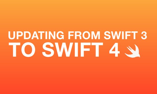 How to update from Swift 3 to Swift 4