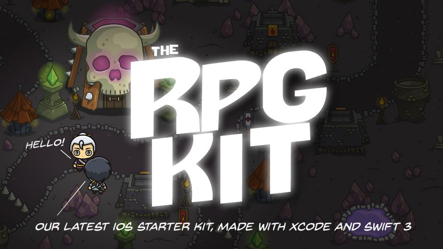Role Playing Games Xcode Template