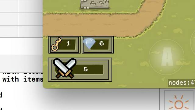 Role Playing Games with Sprite Kit and Swift 3 –41 - Adding GUI for other Inventory