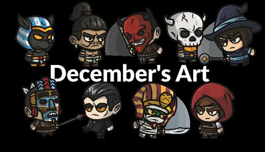 December Game Art