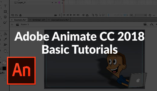 Adobe Animate CC 2018 Basics – Selection and Subselection Tool