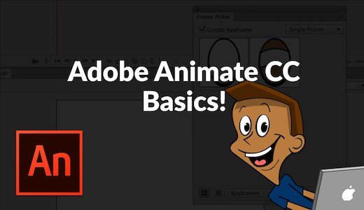 Adobe Animate Basics Tutorial Series