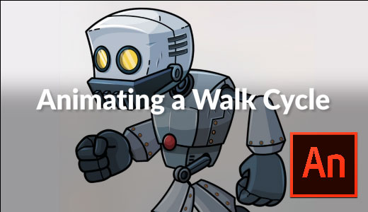 How to Animate A Walk Cycle in Adobe Animate