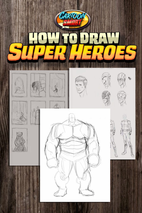 How to Draw Super Heroes Tutorials