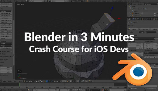 Blender Crash Course for IOS developers - Video Tutorials