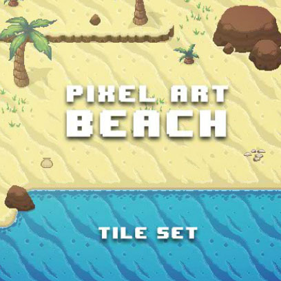 Pixel-Beach-Game-Art-Tile-Set-408