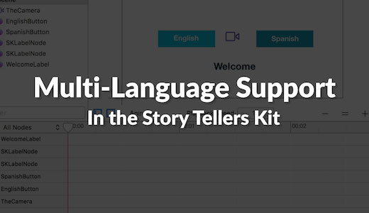Multi Language support for Xcode project Story Book App