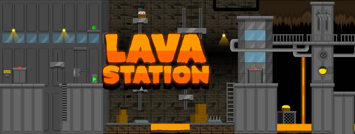 lava station royalty free game art tile set - totally free download