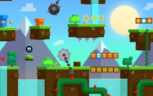 Block Mountains Royalty free game art