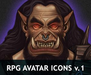 RPG Avatar Icons v.1