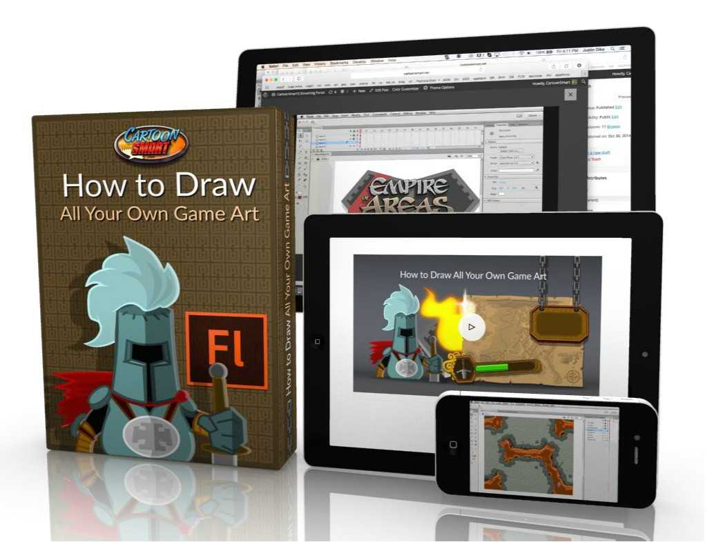 How to Draw All Your Own Game Art - Video Tutorial
