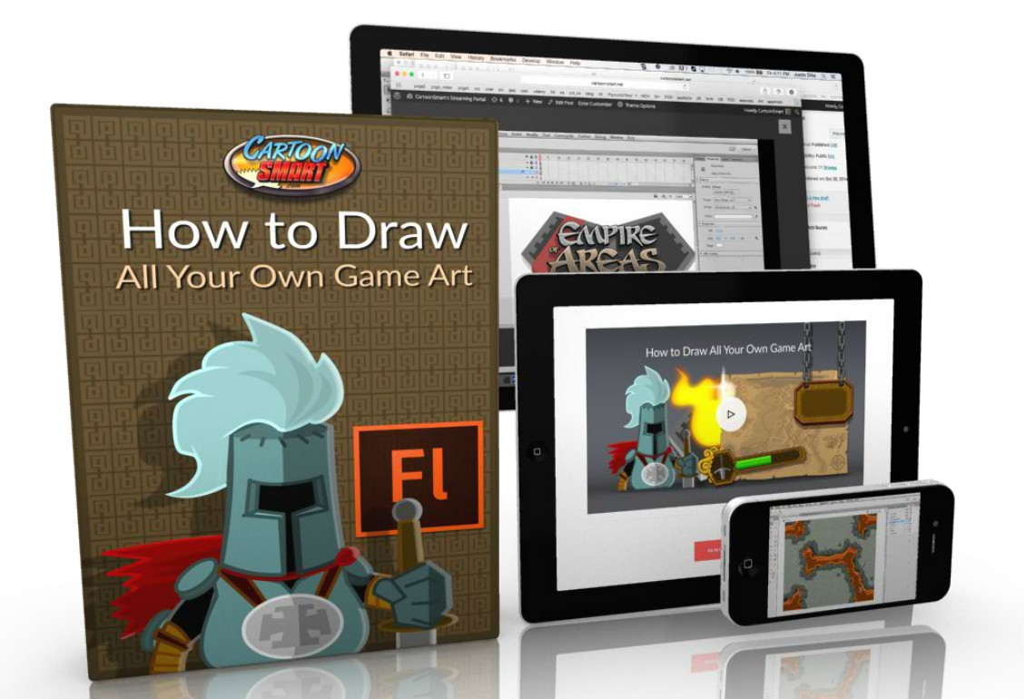 how to draw your own video game characters